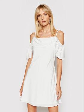 NA-KD NA-KD Sommerkleid 1018-006844-0001-581 Weiß Slim Fit
