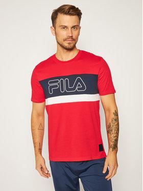 Fila Fila T-shirt Laurens 683183 Rosso Regular Fit