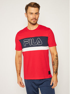 Fila Fila T-shirt Laurens 683183 Rouge Regular Fit