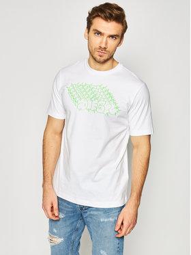 Diesel Diesel T-shirt T-Just-T20 00SEG2 0091A Bianco Regular Fit