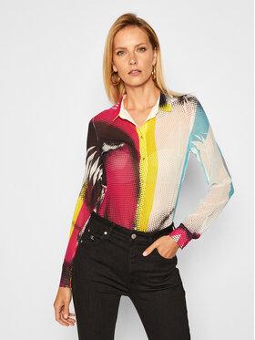 Guess Guess Marškiniai Clouis W0YH96 W70Q0 Spalvota Regular Fit