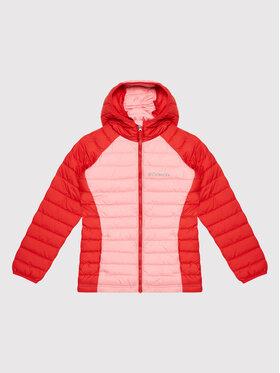 Columbia Columbia Μπουφάν πουπουλένιο Powder Lite™ Hooded 1802931 Ροζ Regular Fit