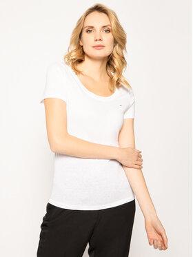 Tommy Jeans Tommy Jeans T-Shirt Original DW0DW04435 Biały Regular Fit