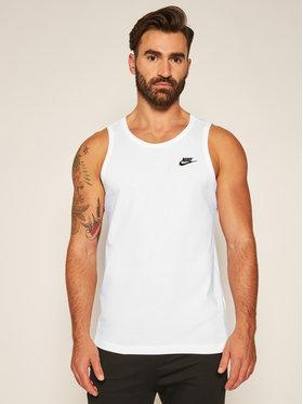 Nike Nike Tank top marškinėliai Club BQ1260 Balta Standard Fit