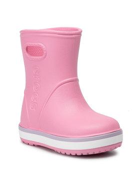 Crocs Crocs Kalosze Crocband Rain Boot K 205827 Różowy