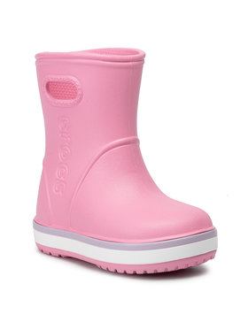 Crocs Crocs Wellington Crocband Rain Boot K 205827 Rosa