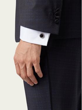 Boss Boss Manžetové gombíky Simony 50219288 Strieborná