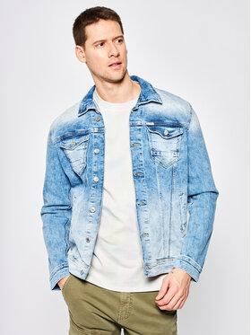 Guess Guess Jeansová bunda M01N14 D3Y92 Modrá Regular Fit
