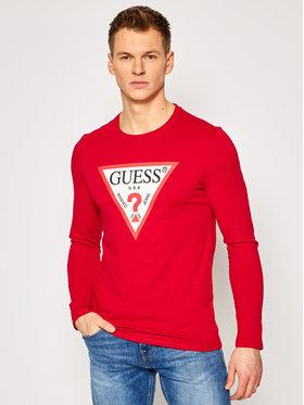 Guess Guess Marškinėliai ilgomis rankovėmis M1RI31 I3Z11 Raudona Slim Fit