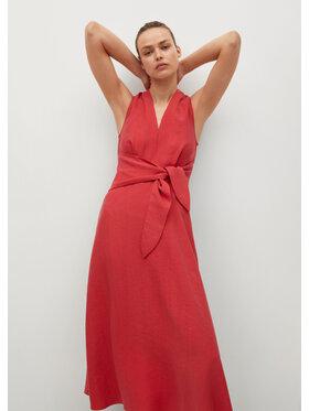 Mango Mango Hétköznapi ruha Nala 87035720 Piros Regular Fit
