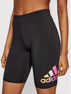 adidas adidas Sport rövidnadrág Essentials Gradient Logo GM5552 Fekete Slim Fit