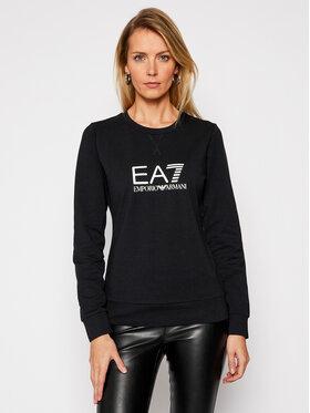 EA7 Emporio Armani EA7 Emporio Armani Majica dugih rukava 8NTM39 TJ31Z 1200 Crna Regular Fit