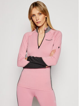 Peak Performance Peak Performance Thermoaktive Unterwäsche Oberteil Magic Half Zip G63083036 Rosa Slim Fit