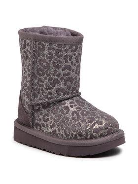 Ugg Ugg Pantofi T Classic II Glitter Leopard 1112388T Gri