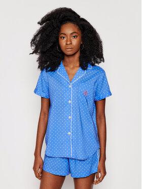 Lauren Ralph Lauren Lauren Ralph Lauren Pizsama 2 Pc ILN12055 Kék