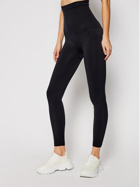 SPANX SPANX Leggings Look At Me Now High-Waisted Seamless 20133R Fekete Slim Fit