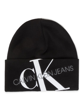 Calvin Klein Calvin Klein Czapka Ckj Beanie 45 K50K505869 Czarny