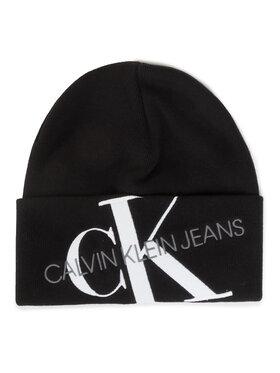 Calvin Klein Calvin Klein Kepurė Ckj Beanie 45 K50K505869 Juoda