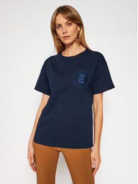 Ermanno Firenze Ermanno Firenze T-Shirt TS11JCO Dunkelblau Regular Fit