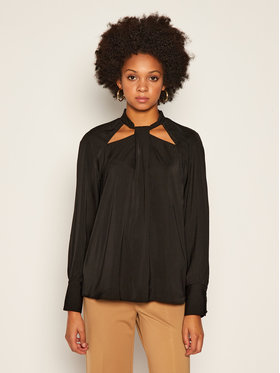Guess Guess Bluse W0BH90 W5OC2 Schwarz Regular Fit