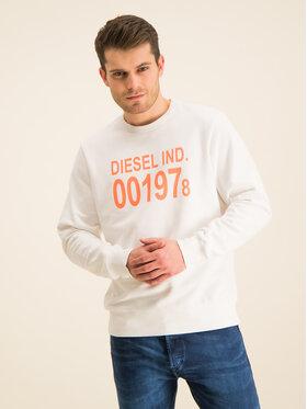 Diesel Diesel Sweatshirt S-Girk-J3 00SDPY 0IAJH Weiß Regular Fit