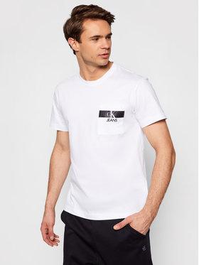Calvin Klein Jeans Calvin Klein Jeans T-shirt J30J317671 Bijela Regular Fit