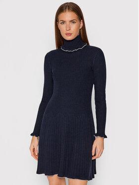 MAX&Co. MAX&Co. Плетена рокля Scandire 73247521 Тъмносин Regular Fit