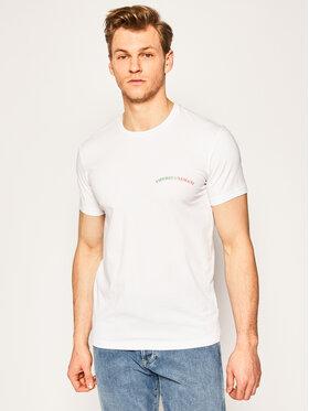 Emporio Armani Underwear Emporio Armani Underwear Tricou 110853 0P510 00010 Alb Regular Fit