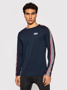 Helly Hansen Helly Hansen Technisches T-Shirt Lifa Active Stripe Crew 49412 Dunkelblau Regular Fit