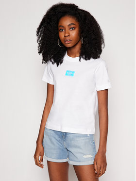 Calvin Klein Jeans Calvin Klein Jeans T-shirt J20J216184 Bijela Regular Fit