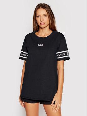 EA7 Emporio Armani EA7 Emporio Armani T-Shirt 3KTT19 TJ29Z 1200 Černá Regular Fit