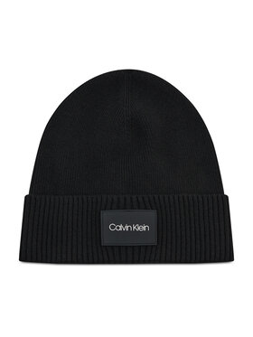 Calvin Klein Calvin Klein Mütze Ttw Patch Rib Beanie K50K507529 Schwarz