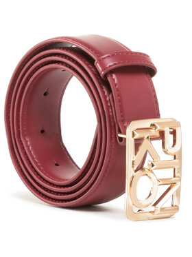 Pinko Pinko Damengürtel Fischio Small Simply Belt Al 20-21 PLT01 1H20S4 Y5FF Dunkelrot