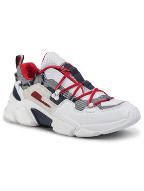 TOMMY HILFIGER TOMMY HILFIGER Сникърси City Voyager Chunky Sneaker FM0FM02580 Бял
