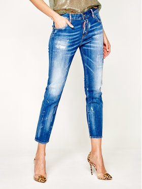 Dsquared2 Dsquared2 Jeansy Slim Fit Cool Girl S75LB0281 Modrá Slim Fit