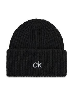 Calvin Klein Calvin Klein Čiapka Organic Knit Xl Beanie K50K507445 Čierna