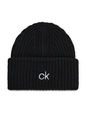 Calvin Klein Calvin Klein Kapa Organic Knit Xl Beanie K50K507445 Crna