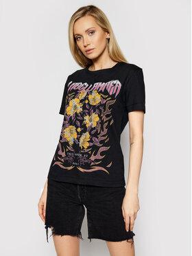 LaBellaMafia LaBellaMafia T-Shirt 21330 Černá Regular Fit