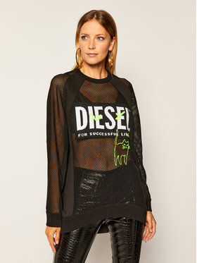 Diesel Diesel Bluză M-Portia A00587 0AAZY Negru Regular Fit
