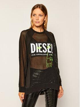 Diesel Diesel Суитшърт M-Portia A00587 0AAZY Черен Regular Fit