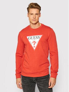 Guess Guess Bluza M1RQ37 K6ZS1 Pomarańczowy Slim Fit