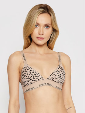 Calvin Klein Underwear Calvin Klein Underwear Braletė liemenėlė 000QF5980E Smėlio