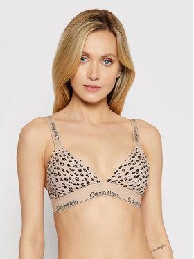 Calvin Klein Underwear Calvin Klein Underwear Podprsenka Bralette 000QF5980E Béžová