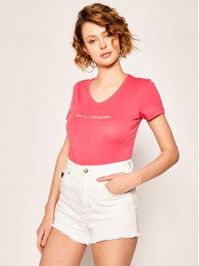 Emporio Armani Emporio Armani T-Shirt 163321 0P263 00776 Różowy Regular Fit