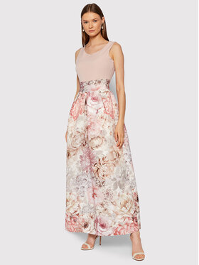 Rinascimento Rinascimento Robe de soirée CFC0104721003 Rose Regular Fit