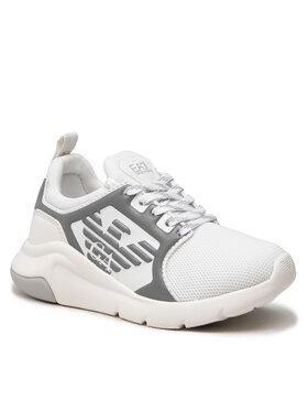 EA7 Emporio Armani EA7 Emporio Armani Sneakersy XSX018 XOT44 N069 Biały