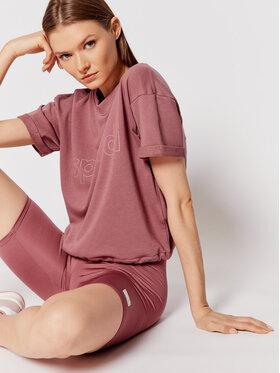 Sprandi Sprandi T-Shirt SS21-TSD010 Różowy Regular Fit
