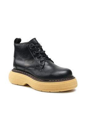 Carinii Carinii Členková obuv B7333 Čierna