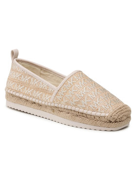 MICHAEL Michael Kors MICHAEL Michael Kors Espadryle Lenny Espadrille 40S1LNFP7D Beżowy