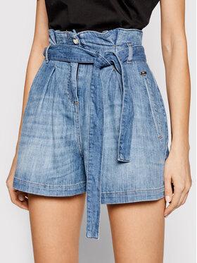 Liu Jo Liu Jo Szorty jeansowe UA1140 D4609 Niebieski Regular Fit